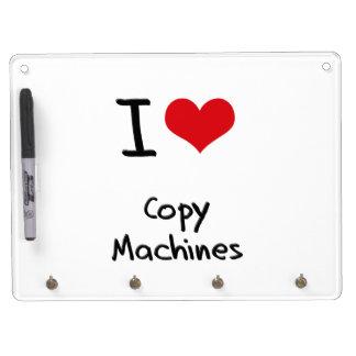 Amo las máquinas de la copia pizarras blancas de calidad