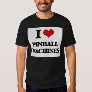 Amo las máquinas de pinball polera