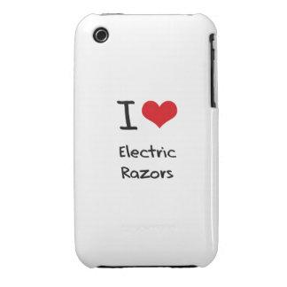 Amo las maquinillas de afeitar eléctricas iPhone 3 cárcasa