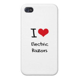 Amo las maquinillas de afeitar eléctricas iPhone 4/4S carcasa
