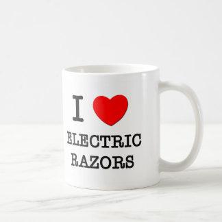 Amo las maquinillas de afeitar eléctricas taza
