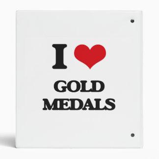 "Amo las medallas de oro carpeta 1"""