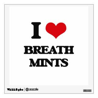 Amo las mentas de la respiración