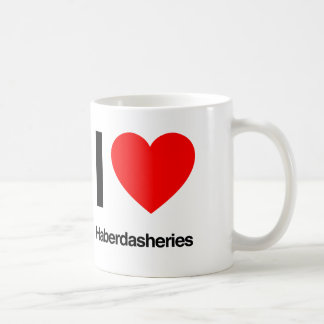 amo las mercerías taza de café