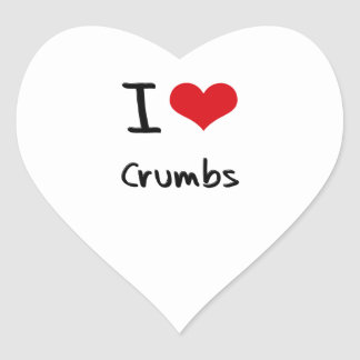 Amo las migas colcomanias corazon personalizadas