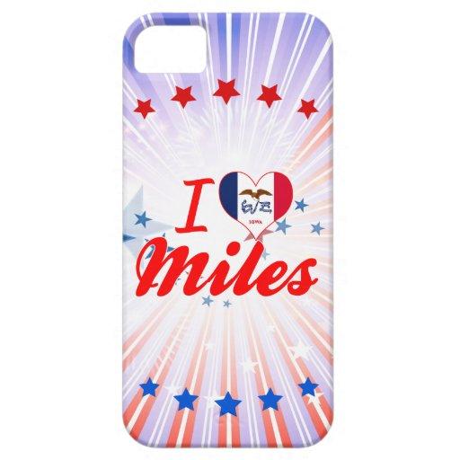 Amo las millas, Iowa iPhone 5 Coberturas