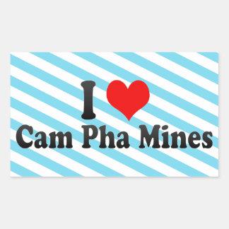 Amo las minas de Pha de la leva, Vietnam Rectangular Altavoces