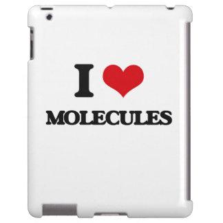 Amo las moléculas funda para iPad