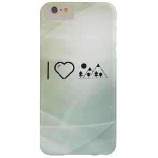 Amo las montañas funda de iPhone 6 plus barely there
