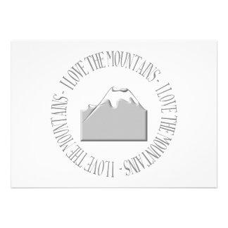 Amo las montañas