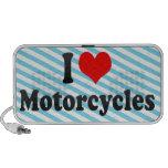 Amo las motocicletas mp3 altavoces