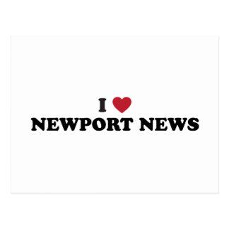 Amo las noticias Virginia de Newport Postal