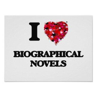 Amo las novelas biográficas póster