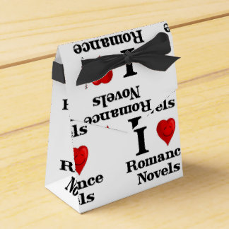 Amo las novelas románticas caja para regalos de fiestas