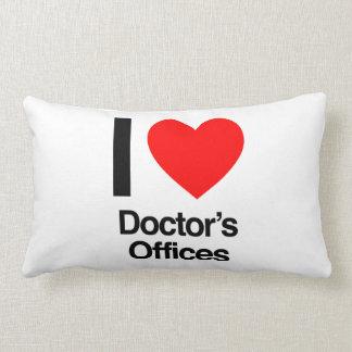 amo las oficinas del doctor almohada