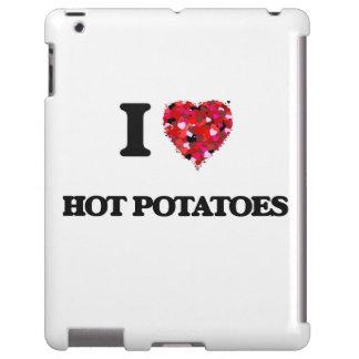 Amo las patatas calientes funda para iPad