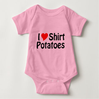 ¡Amo las patatas de la camisa! Polera