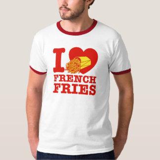 Amo las patatas fritas playera