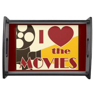 Amo las películas bandejas
