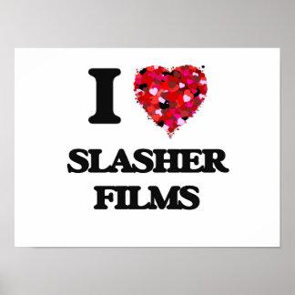Amo las películas de Slasher Póster
