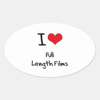 Amo las películas integrales colcomanias de ovaladas