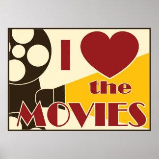 Amo las películas póster