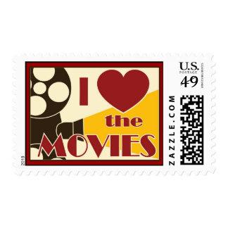 Amo las películas sellos postales