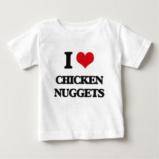 Amo las pepitas de pollo playera