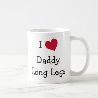 Amo las piernas largas del papá taza de café