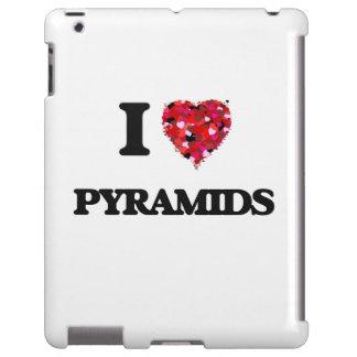 Amo las pirámides funda para iPad