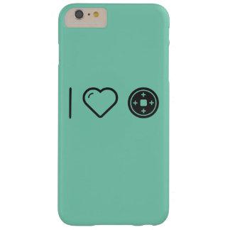 Amo las placas funda para iPhone 6 plus barely there