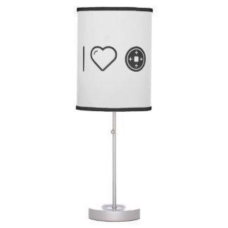 Amo las placas lámpara de escritorio