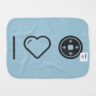 Amo las placas paños para bebé