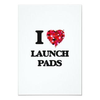 """Amo las plataformas de lanzamiento invitación 3.5"""" x 5"""""""