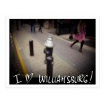 AMO LAS POSTALES ORIGINALES DE WILLIAMSBURG NYC -