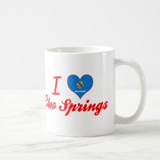 Amo las primaveras de Cleo, Oklahoma Tazas