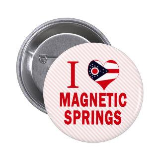 Amo las primaveras magnéticas Ohio Pins