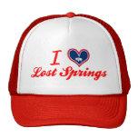 Amo las primaveras perdidas, Wyoming Gorros Bordados