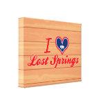 Amo las primaveras perdidas, Wyoming Impresion De Lienzo