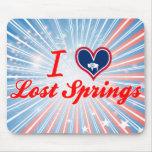 Amo las primaveras perdidas, Wyoming Alfombrillas De Ratones