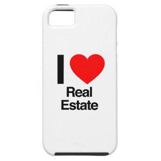 amo las propiedades inmobiliarias iPhone 5 carcasas