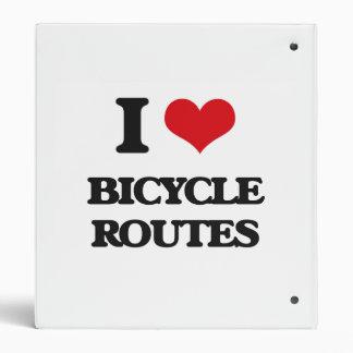 Amo las rutas de la bicicleta