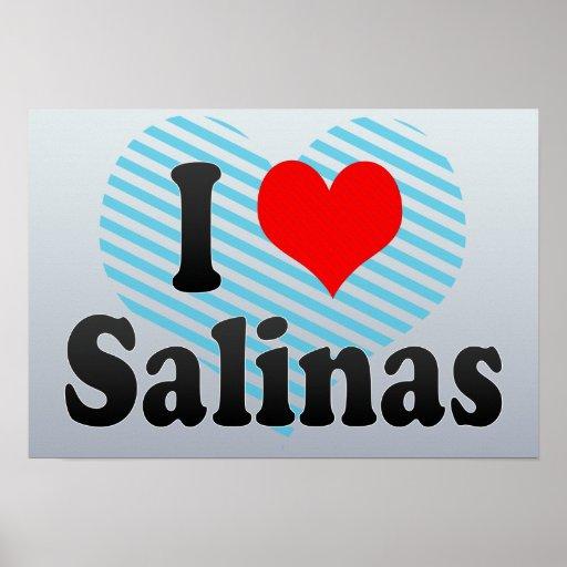 Amo las salinas, Estados Unidos Póster