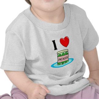 Amo las salmueras camiseta