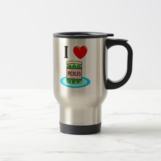 Amo las salmueras tazas de café