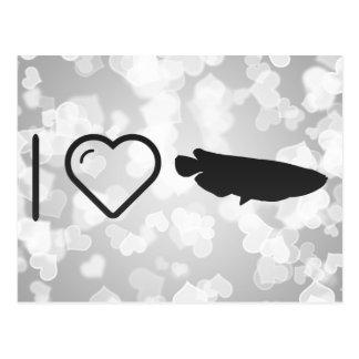 Amo las salsas de pescados postales