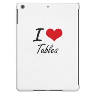 Amo las tablas funda para iPad air