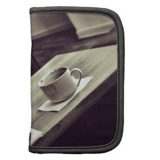 Amo las tazas de café de la tienda del café del ca organizador