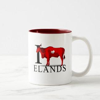 Amo las tazas de Elands