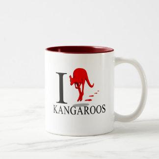 Amo las tazas de KangaROOS